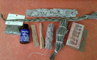 Types of Smudging Materials